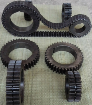 齒輪無聲齒形鏈條齒輪